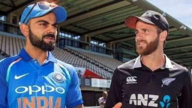 Photo of The three-match One-Day International series between India and New Zealand has been postponed till 2022.